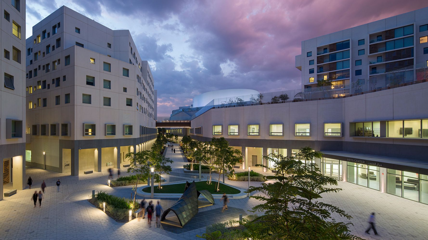 Rafael Vinoly Architects New York University Abu Dhabi